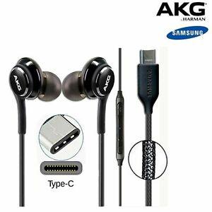 Genuine Samsung Galaxy S8/S8 Plus Earphones AKG Type C In Ear Headphones Headset