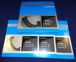 Shimano Ultegra FC-6800 11-speed Chainring 34t - 36t - 39t - 46t - 50t - 52t-53t