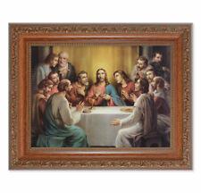 "The Last Supper ~ Fine Italian Art 10.25"", Wall Plaque in Wood, Artist Bonella"