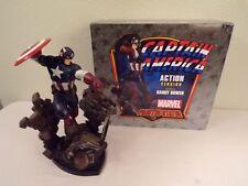 Captain America Bowen Action Statue Marvel Comics
