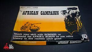 Die African Campaign Brettspiel TSR Edition 1973 Schnell