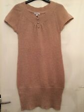 New Girls Long Pink Short Sleeve Jumper M&s Glitter Age 11-12 Years