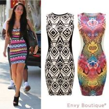 Round Neck Dresses for Women with Slimming Midi