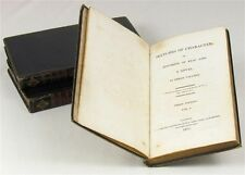 1815 | Sketches of Character | RARE 'triple-decker' | LOVELY dark blue BINDINGS