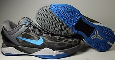 """100% Authentic Nike Zoom Kobe Grey """"Snow Leopard"""" [488371-006] SZ 9.5 USED w BOX"""