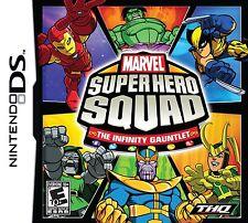 Marvel Super Hero Squad: The Infinity Gauntlet (Nintendo DS, 2010)