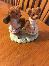 Reduced 1/2 Price.Young's Collection 1997 Angel Sewing Bears