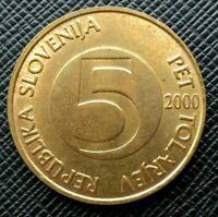 Slovénie 5 Tolarjev 2000   [1964]