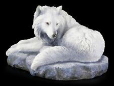Wolf Figur - Guardian of the North by Lisa Parker - Fantasy Statue Deko Geschenk
