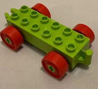 Lego Duplo Black Ladder Base Part number 2223 Piece Holder Rack RARE HTF EUC