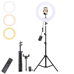 ANELLO LUMINOSO A LED CON TREPPIEDI PER SELFIE TIK TOK LUCE RING LIGHT TELEFONO