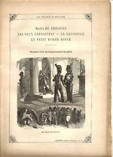 """Partition """"Les Chansons de Béranger"""" N°2 Lire détails sur la photo.8 pages.RARE+"""