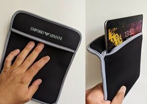 Authentic ARMANI Pouch soft case for iPad (or similar: Samsung, Kindle)