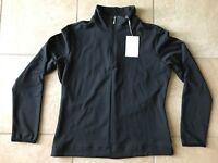 NIKE GOLF Womens Pro Half-Zip Pullover-Black-Medium-NWT
