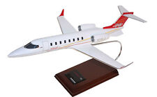 Bombardier Aerospace Learjet 75 Red Desk Display Private 1/35 Model ES Airplane