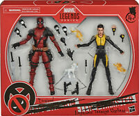 "Marvel Legends 6"" Deadpool + Negasonic Teenage Warhead X-Men Movies Pack Sealed"
