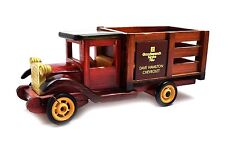 Collectible Wood Chevrolet GoodWrench Service 1925 Stake Truck Hand Painted