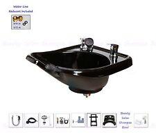Beauty Salon Shampoo Bowl Sink Wall Mounted ABS Durable Plastic  TLC-B13W-GT