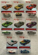 "Hot Wheels ""Flying Colors"" 8 Piece Set (Torino, Mini Cooper, Blvd. Bruiser, etc)"