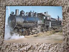 W.T. Carter & Brother Railway ~ 2-8-2 Steam Engine #14, Postcard - New-unposted