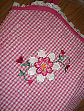 Youngland Girls Size 4T Pink Gingham Dress