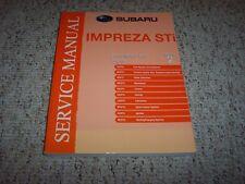 2010 Subaru Impreza STI Engine Service Repair Manual WRX Turbo 2.5GT Limited