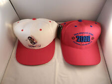 """12 - KENTUCKY DERBY BASEBALL HATS """"NEW"""" WITH TAGS 122ND, 126TH THRU 136TH"""