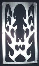 Flame Brushed Finish VZ 800 Marauder Radiator Grille Fits all Models 1997-2004