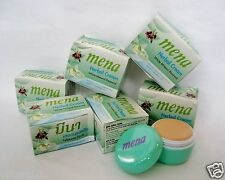6 PCS/ MENA Extra White Herbal Whitening Mineral Renewal Facial Cream 3g.