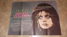 Private Benjamin movie poster - Goldie Hawn (1981) - original uk quad