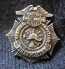 HARLEY-DAVIDSON BIKER SPECIAL EDITION FIREFIGHTER PIN