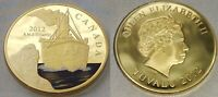 TITANIC Gold Coin English British Fiji Canada Ship Ocean Liner Disaster History