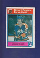 Wayne Gretzky Record Breaker HOF 1982-83 O-PEE-CHEE Hockey #1 (VGEX)