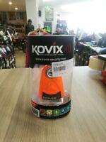 KOVIX ALARMED MOTORCYCLE DISC LOCK ORANGE