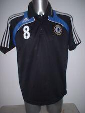 Chelsea Adidas Training L Polo Football Soccer 8 LAMPARD Shirt Jersey New York