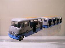 TEKNO DENMARK 0851/204-1 MERCEDES L.319 + 0205-1 TRAILER EXPO BRUSSEL 1958 1:55