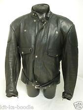 Albert Dann ASP Jacket Retro Vintage Leather Motorcycle Bike Biker Large (JK5)