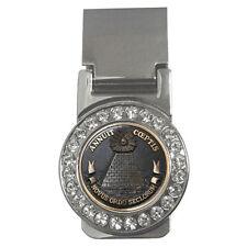 The Illuminati Eye Annuit Coeptis Masonic Mason Custom Money Clip Card Holder!