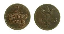 pcc1953_6) Germany Free City of Danzig - 2 Pfennig 1926