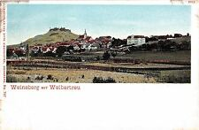 Germany postcard Weinsberg mit Weibertreu pre-1907