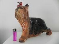 Riesen XXL Goebel Hund Yorkshire 1. Wahl 28cm.
