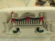 Dept 56 Picket Lane Footbridge, Snow Village, 2012, Retired, NIB, OSRP $27.50