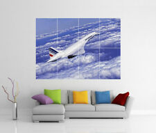 Concorde Air France Giant Wall Art Imprimé Photo Affiche