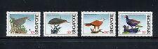 Singapore 434-437, MNH, Birds Black Bittern,  Brahminy Kite 1984. x19119