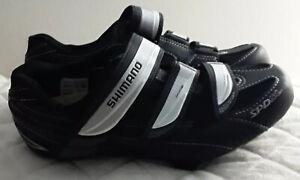 Womens 8.5 Shimano WR31-L Cycling Shoes Black Clip