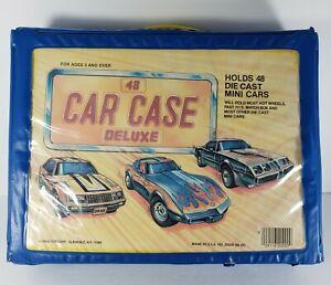 Tara Toy Corp. Deluxe 48 Car Collector's Case vintage Hot Wheels Matchbox Rare