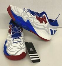 Adidas SM CL Boost Low 2016 Iced Men's shoes Size 7.5 B39450 Blue White Red