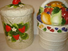 Kitchen Canister 4 Pieces Sugar Jars Containers with Lids