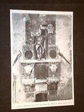 L'Argo (o Mercurio) Sala del Tesoro del Castello di Milano nel 1898