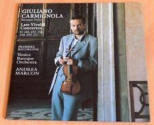 Vivaldi - Derniers Concertos - Giuliano Carmignola - CD Sony